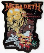 Megadeth - 'Peace Sells' Shaped Sticker
